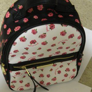 Juicy Couture White Pink Rosie Small Back Pack